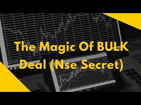 BulK Deal Magic - Simplied Trading