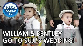 William & Bentley go to Suji's wedding! [The Return of Superman/2019.01.06]