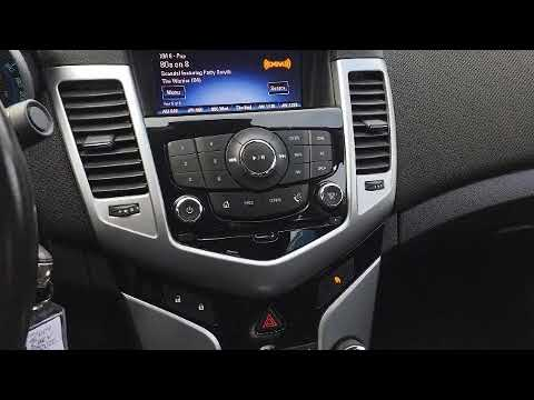 2014 Chevrolet Cruze Lt Bluetooth Usb Port Youtube