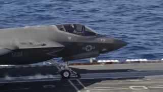 Crew Interviews from F-35C Sea Trials