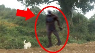 5 Scary Things Caught On Camera & In Real Life - BIGFOOT