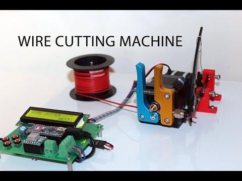 Diy Arduino Based Automatic Wire Cutting Machine Youtube