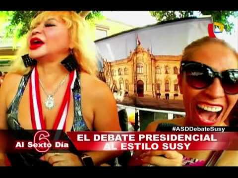 El Debate En Las Calles: La Fiesta Electoral Al Estilo De Susy Díaz