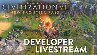 Civilization VI - New Frontier Pass Developer Livestream VOD | Maya & Gran Colombia Pack