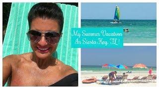 Lauren's Vlog: My Summer Vacation in Siesta Key, FL.!