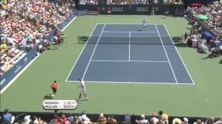 Andy Roddick Vs Gilles Muller Atlanta Final 2012 Highlights (HD)