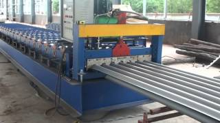 780 corrugated steel panel roll forming machine