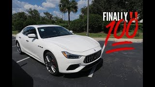 2018 GranSport Maserati Ghibli (Test Drive, Startup, Rev & More)
