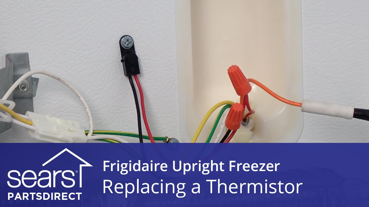 How To Replace A Frigidaire Upright Freezer Thermistor