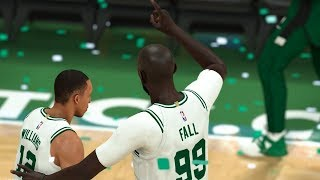 NBA 2K20 Tacko Fall My Career - Tacko Wins MVP?