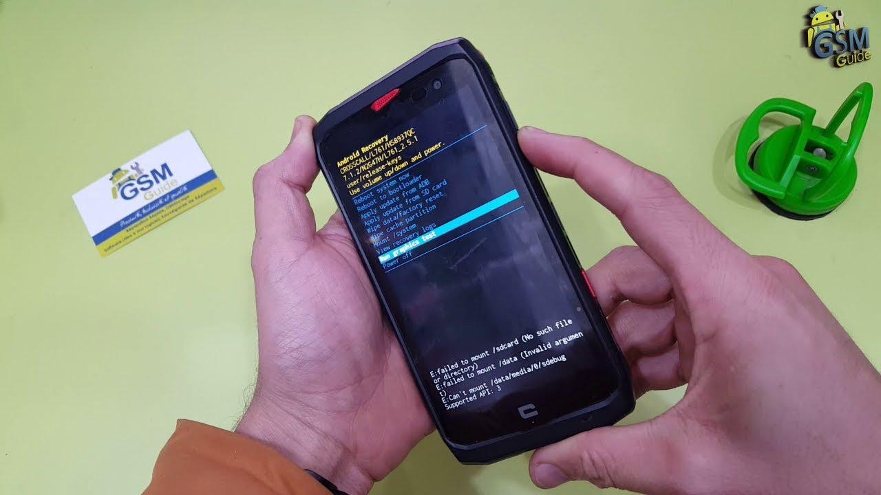 crosscall x3 TREKKER-X4  Unlock Pattern Password   HARD RESET How To -- GSM GUIDE
