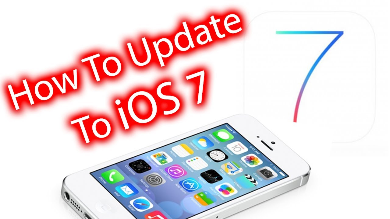 How To update and Install iOS 7 iPhone, iPad, iPod Touch Via the air and  iTunes