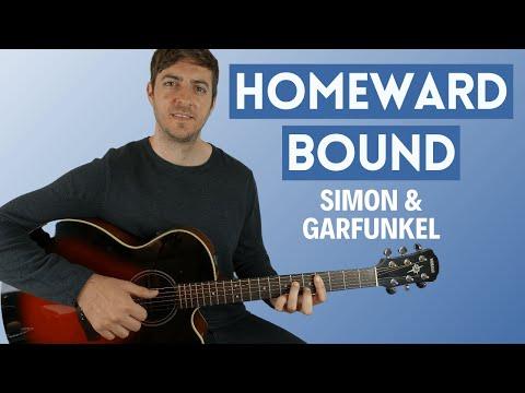 Homeward Bound by Simon & Garfunkel (Guitar Lesson)