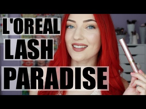 L'OREAL LASH PARADISE MASCARA REVIEW | Demo + Comparison