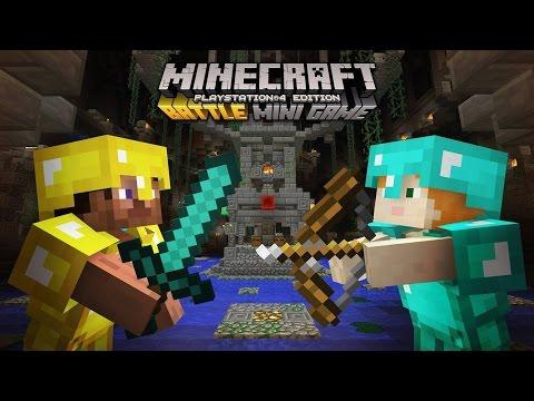 Minecraft (PS4) | Découverte du Mini-jeu Arène / Mes impressions !