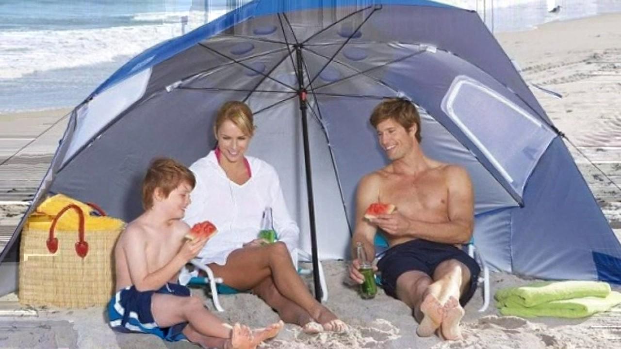 787e5acc3b38 Review - Sport-Brella Portable All-Weather and Sun Umbrella - YouTube