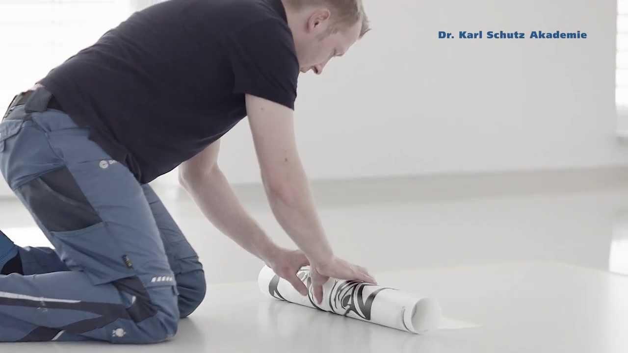 Mit Transfertechnik Ein Logo Oder Design Auf Boden Versiegeln - Youtube