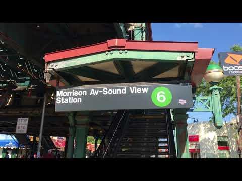 【(6)Bronx】Morrison Av–Soundview(モリソンアベニュー-サウンドビュー)駅【NY地下鉄<#015>】south Bronx(サウスブロンクス)地区