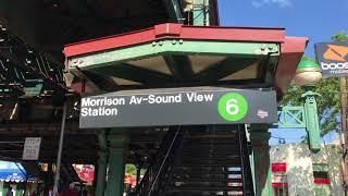 【NYスラム街】Morrison Av–Soundview(モリソンアベニュー-サウンドビュー)駅【(6)Bronx】【NY地下鉄<#015>】south Bronx(サウスブロンクス)地区
