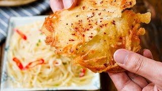【酸辣土豆丝 土豆丝饼】最简单的方式得到最大的满足
