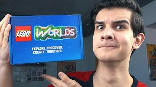 Распаковка LEGO Worlds!