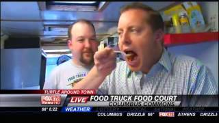 Thursday: Dana Explores The Food Truck Court