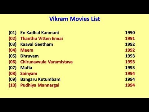 Vikram Movies List