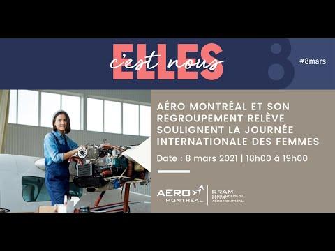 Aéro Montréal et son Regroupement Relève soulignent la Journée internationale des femmes
