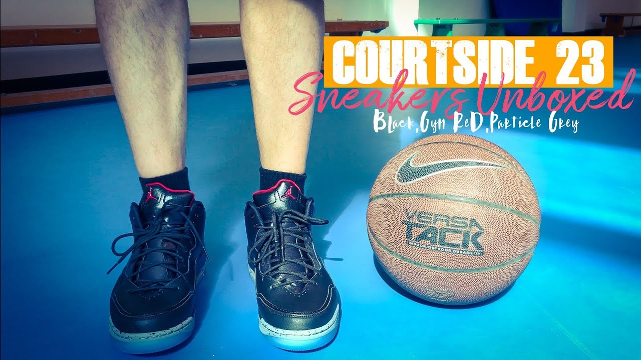 6f791abdbf1 JORDAN COURTSIDE 23 - Unboxing, On-foot Review (plus Trivia on Air ...