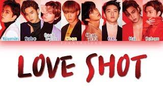 Download EXO - LOVE SHOT [HAN ROM ENG Color Coded Lyrics]