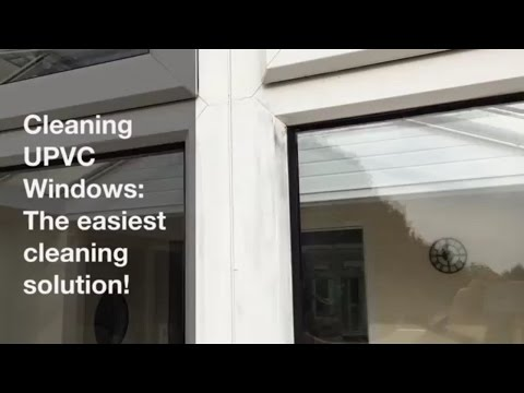 Cleaning UPVC Window Frames - The Easiest Solution - DIY
