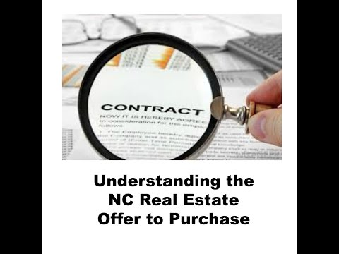 Understanding the NC Offer to Purchase