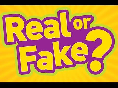 Real or Fake ?