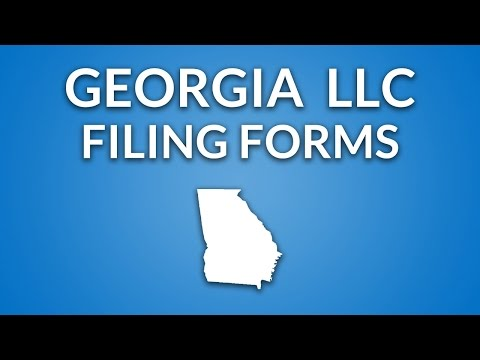 Georgia LLC - Filing Forms & Documents
