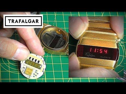 1970's Trafalgar LED Watch Resurrection Attempt.