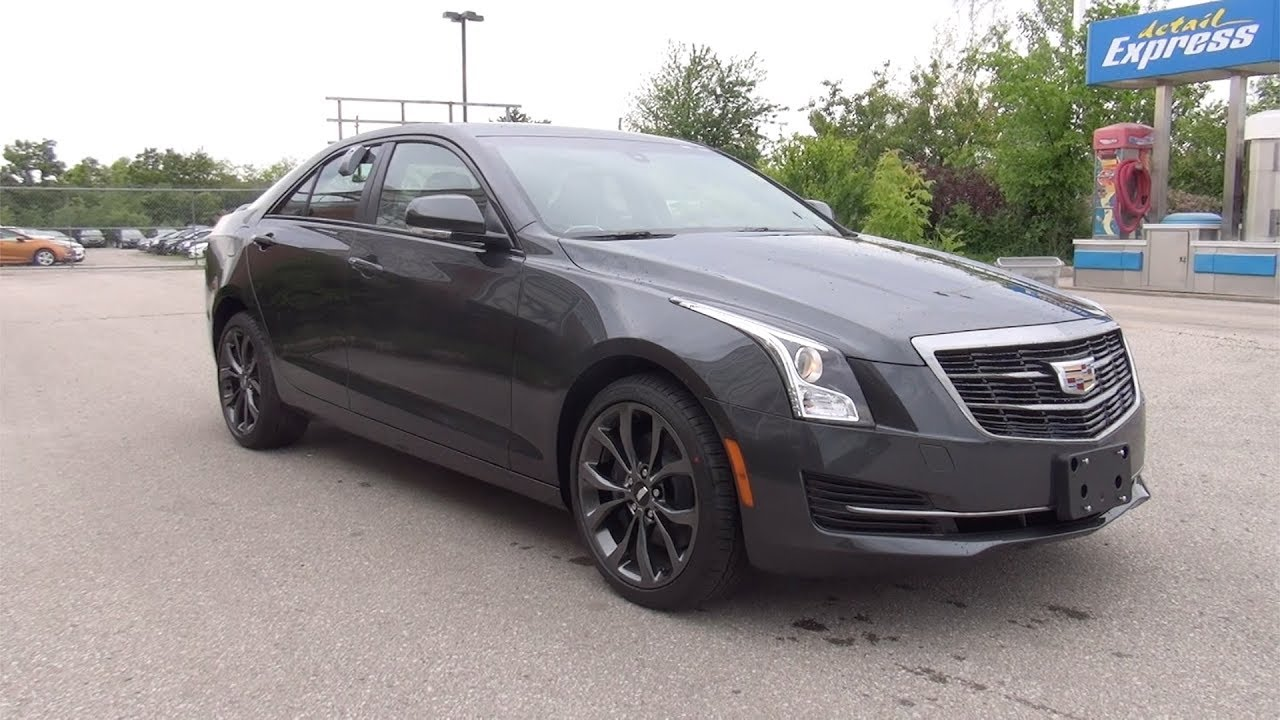 2017 CADILLAC ATS SEDAN AWD - PHANTOM GRAY - YouTube