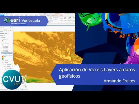 Aplicación de Voxels Layers a datos geofísicos