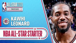 Kawhi Leonard 2020 All-Star Starter | 2019-20 NBA Season
