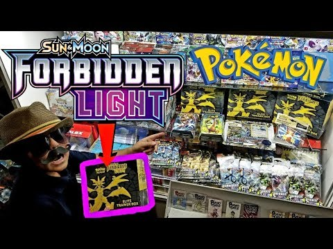 FORBIDDEN LIGHT RELEASED EARLY! ALL THE NEWEST POKEMON CARDS AT CARLS COLLECTIBLES!!