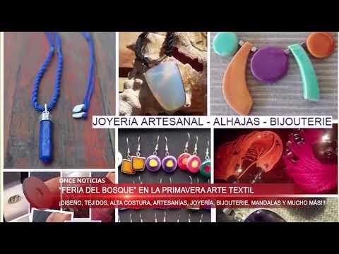 Feria del Bosque con stand de textiles 19/10/2017