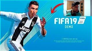¡JUGANDO A LA DEMO DE FIFA19 EN DIRECTO + TRUCO PARA PODER DESCARGARLA!