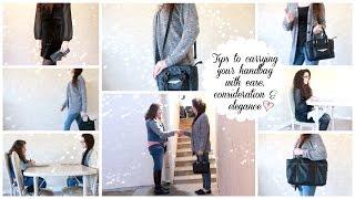 Ladylike Charm: Elegant Handbag & Purse Etiquette