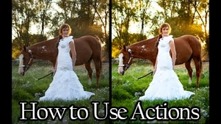 Photography Tips: How to Use Photoshop Actions
