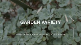 Garden Variety (Session 1) - How Deep Is Your Love? // Limit To Your Love