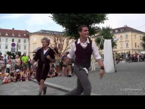 30. Pflasterspektakel Linz - Auftritt Vol'e Temps Circus