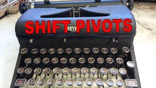 Royal Typewriter Shift Operation Full Motion Visual Aid