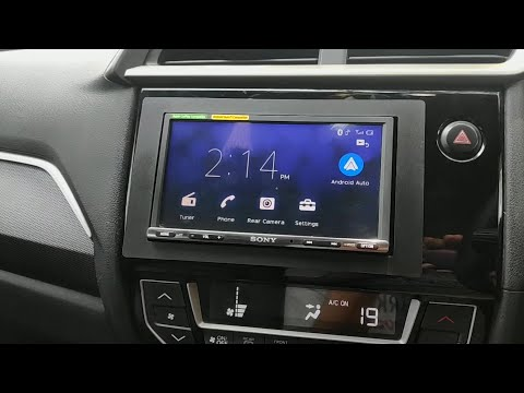 Sony XAV-AX3000 Car System Review | Android Auto and Sound Test in Honda BR-V
