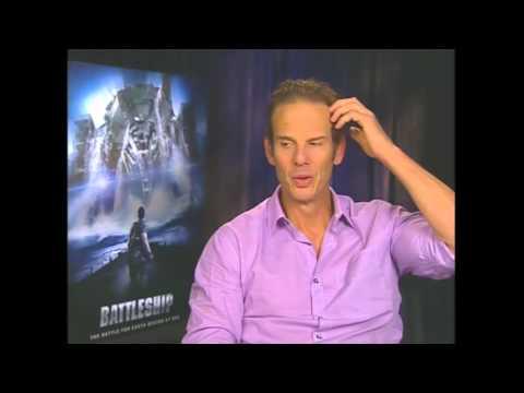 """Peter Berg Interview - """"Battleship"""""""