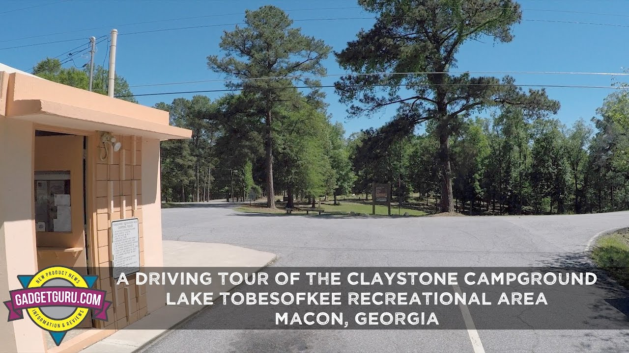 A Drive Through Claystone Campground At Lake Tobesofkee
