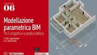 Seminario 06 - Modellazione parametrica BIM per il progetto e la pratica edilizia